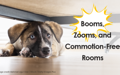 Booms, Zooms and Commotion-Free Rooms